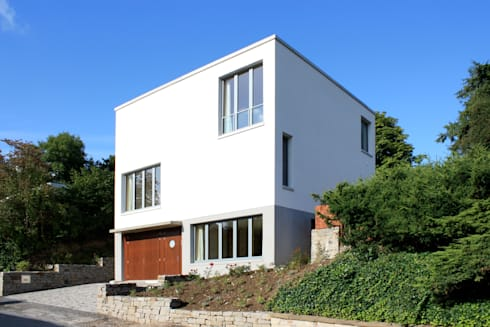 Neubau Einfamilienhaus R. Modern Houses By ARCHITEKTEN BRÜNING REIN