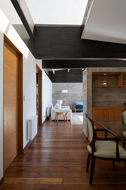 proyecto: Livings de estilo moderno por SUN Arquitectos