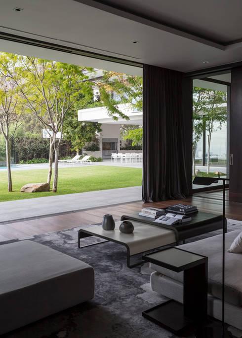 Salon de style  par Jenny Mills Architects