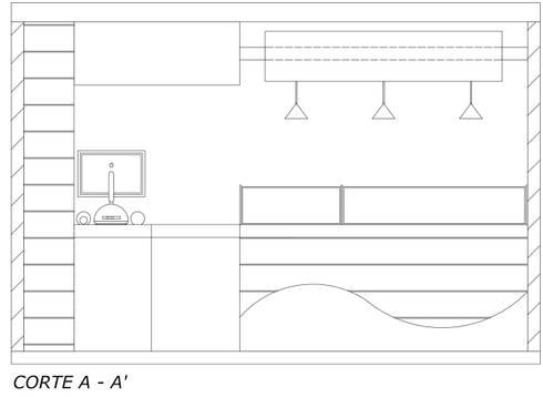 Vista acceso: Espacios comerciales de estilo  por Loft 5101 F.P.