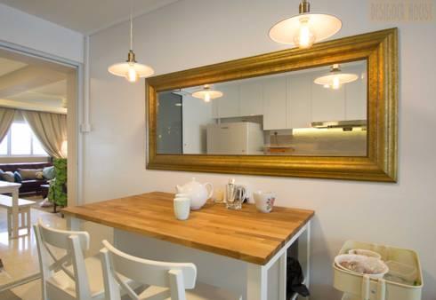 Pandan Garden Renovation: classic Dining room by Designer House