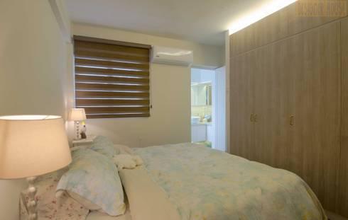 Pandan Garden Renovation: classic Bedroom by Designer House