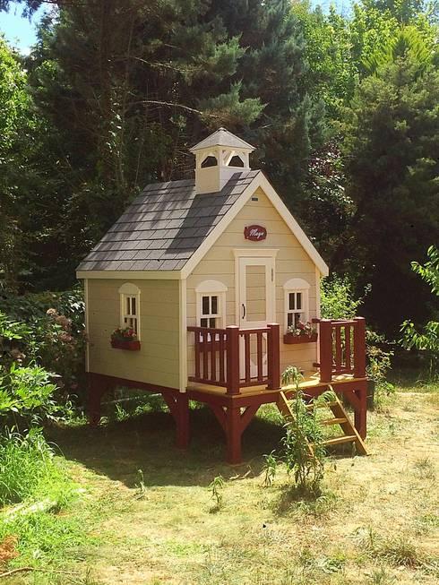 Minik Ev – Cottage loft:  tarz Çocuk Odası