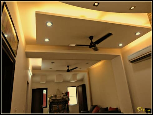 Living Room: asian Living room by Mehak Lochan Design