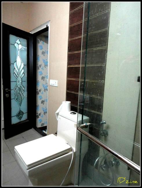Baños de estilo asiático por Mehak Lochan Design
