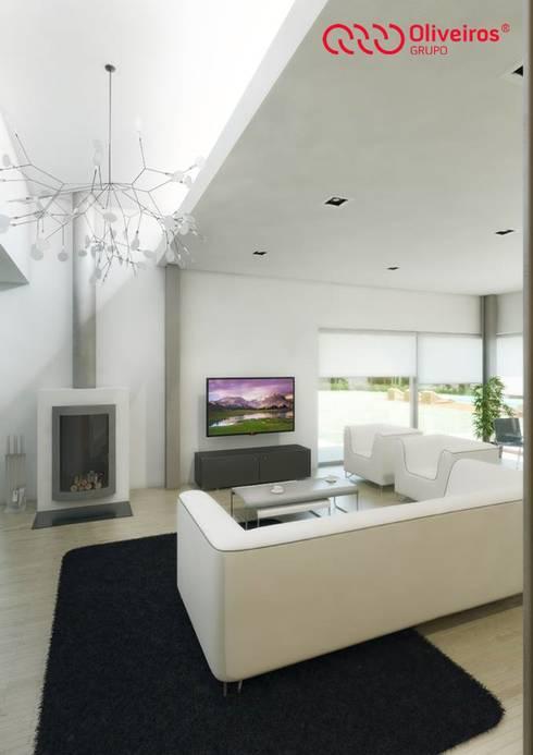 1407-PC-1214: Salas de estar modernas por Oliveiros Grupo