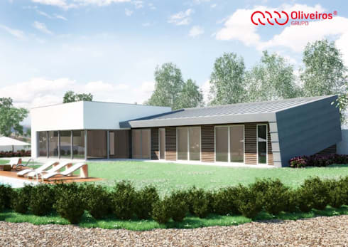 1407-PC-1214: Casas modernas por Oliveiros Grupo
