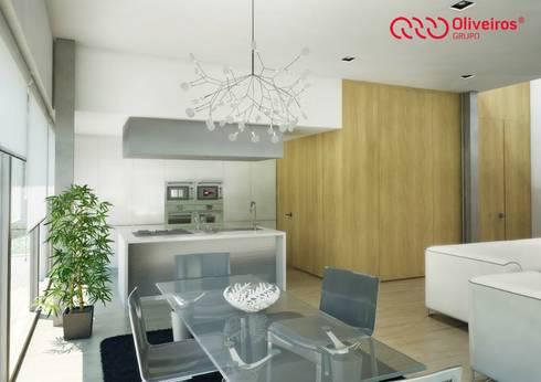 1407-PC-1214: Cozinhas modernas por Oliveiros Grupo
