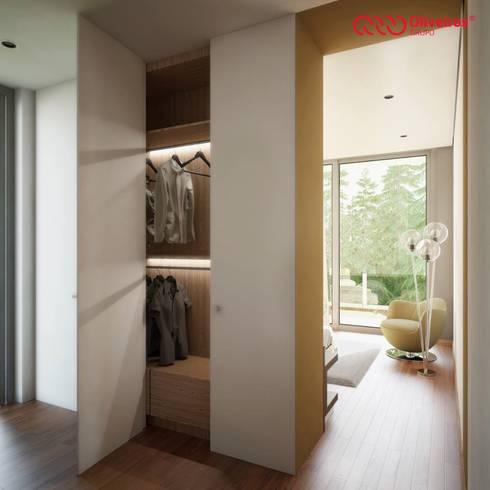 1325-MP-0813: Closets modernos por Oliveiros Grupo