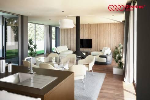 1325-MP-0813: Salas de estar modernas por Oliveiros Grupo