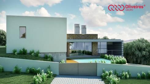 1328-VF-0813: Casas modernas por Oliveiros Grupo