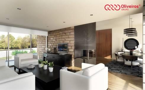 1328-VF-0813: Salas de estar modernas por Oliveiros Grupo