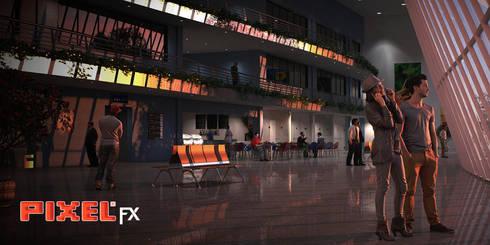 Aeroporto São Paulo - Brasil:   por PIXELfx