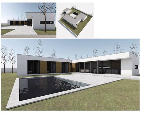 MODIKO - Construção Modular : Casas modernas por Modiko Estruturas de Construção, Lda