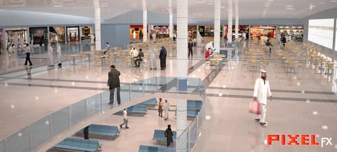 Terminal Aeroportuário - Arábia Saudita:   por PIXELfx