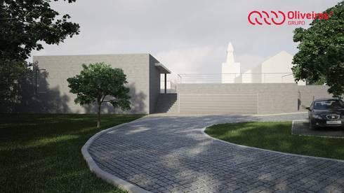 Arranjo exterior/alargamento de um cemitério: Casas clássicas por Oliveiros Grupo