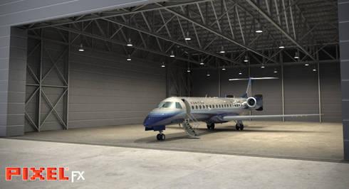 Hangar - Ucrânia:   por PIXELfx