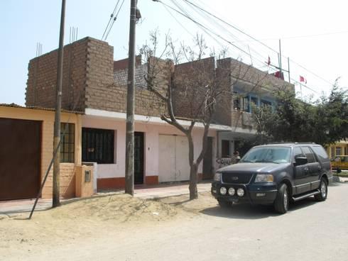 Edificio Ramis - Fachada de la anterior edificación:  de estilo  por D-Ecodifica Arquitectos