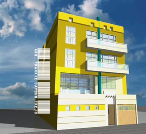 Edificio Ramis - Fachada Principal:  de estilo  por D-Ecodifica Arquitectos