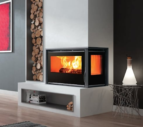 A85 DOUBLE GLAZED:   by Hyper Lighting and Fires