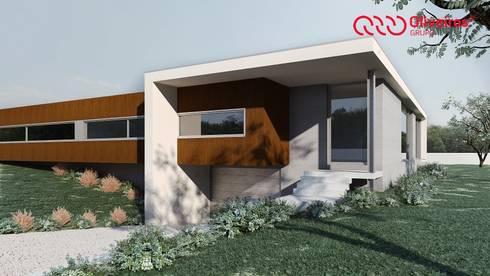 1100-JF-0909: Casas modernas por Oliveiros Grupo