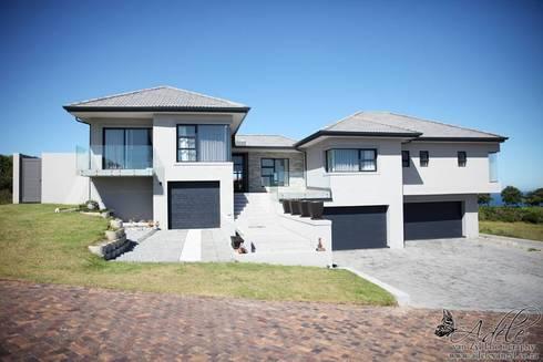 House Shenck Rerh: modern Houses by Rudman Visagie