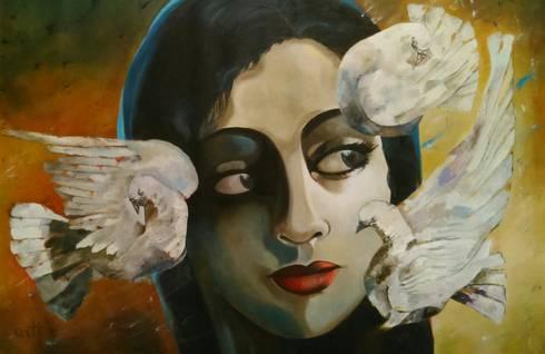 Udaan :  Artwork by Indian Art Ideas