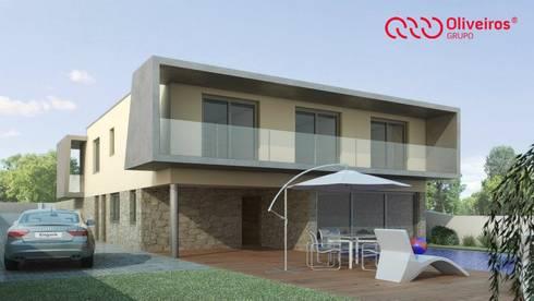 1044-MP-0808: Casas modernas por Oliveiros Grupo