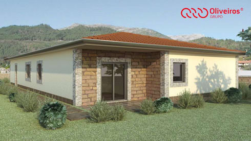 1121-MP-1209: Casas modernas por Oliveiros Grupo