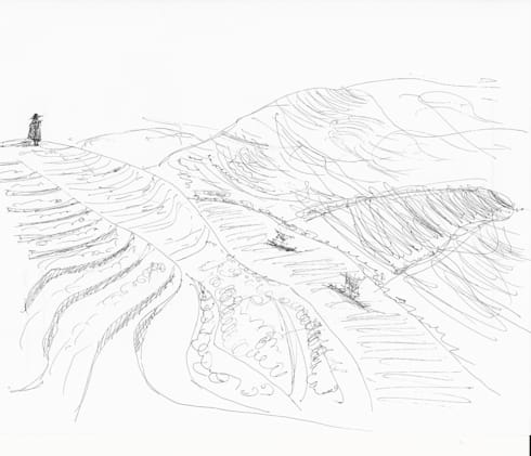 Douro Valley Sketch:   por RLA | RICHARD LOUREIRO ARCHITECTS