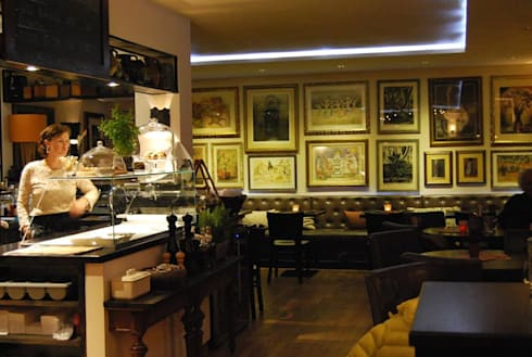 Einrichtung Gastronomie YEZZ 50 Plätze von ROOMERS DESIGN | homify