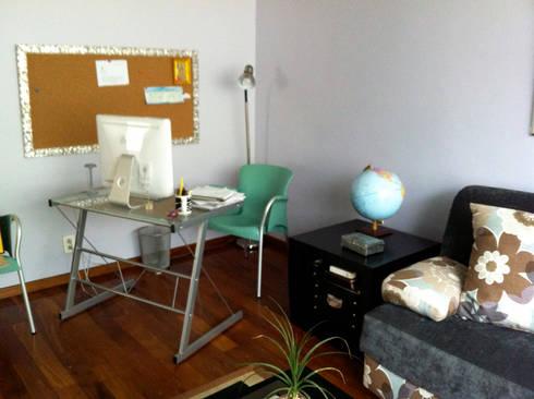 Del Sol Decor: Estudios y oficinas de estilo clásico por Erika Winters Design