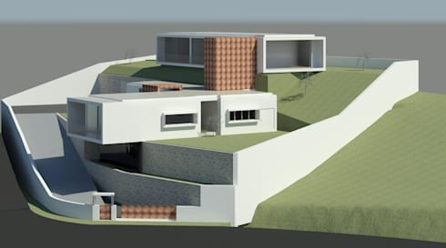 "VIVENDA UNIFAMILIAR ""VHX"":   por Traço M - Arquitectura"