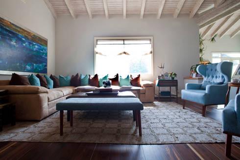 Contadero Decor: Salas de estilo moderno por Erika Winters Design