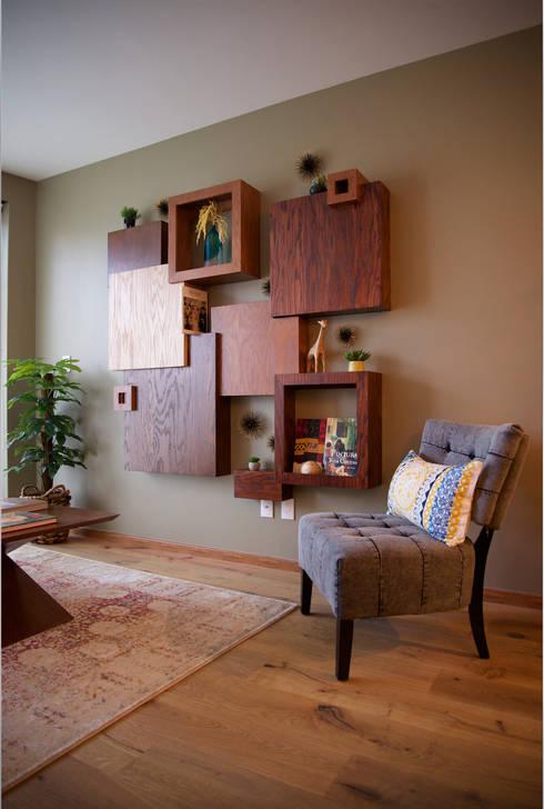 Choapan Decor by Erika Winters®Design: Salas de estilo ecléctico por Erika Winters® Design
