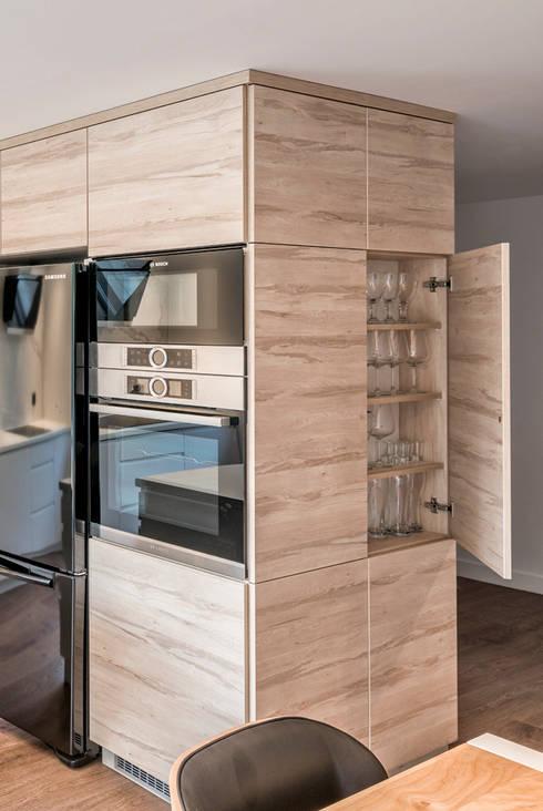 مطبخ تنفيذ Marmur Studio