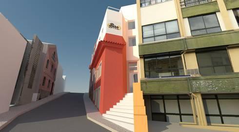 Hostel Bike Suite & Lounge:   por Escala Absoluta