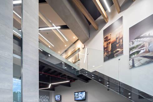 Showroom Punta Cascatta - Detalles: Oficinas y tiendas de estilo  por MX Taller de Arquitectura & Diseño