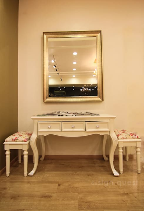 The Fair Lady Designer Boutique  : classic Dressing room by Design Quest Architects