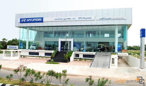 Hyundai Showroom :  Car Dealerships by Design Quest Architects