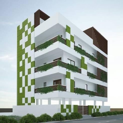 Residence @ vizag:   by SunDial Associates