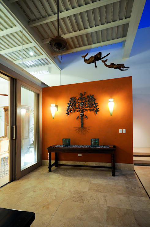 La Casa de las Sirenas: Terrazas de estilo  por Ancona + Ancona Arquitectos