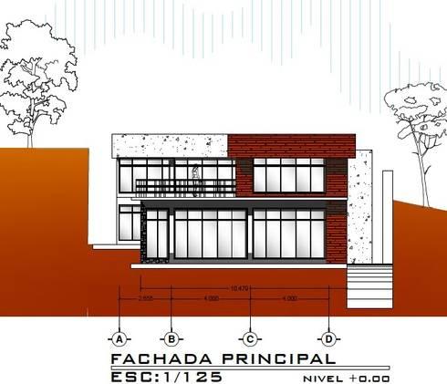 Casa ZEN: Casas de estilo moderno por Arquitecto Eduardo Carrasquero