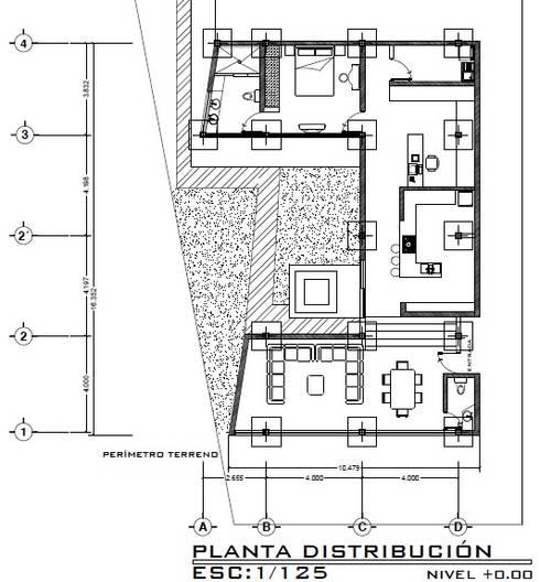 Casa ZEN: Comedores de estilo moderno por Arquitecto Eduardo Carrasquero