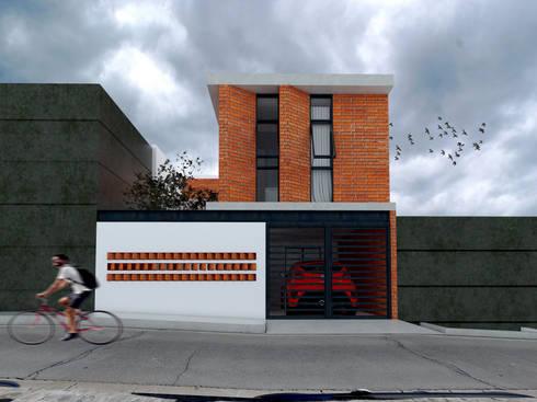 Ampliación casa Fe: Casas de estilo moderno por Vintark arquitectura