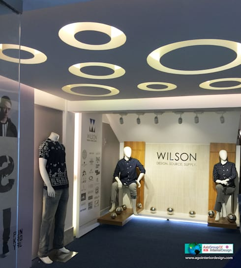 Showroom interior design :  Shopping Centres by Axis Group Of Interior Design