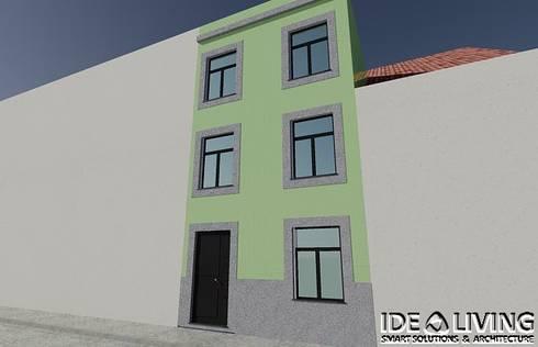 Fachada Principal: Casas clássicas por Idealiving
