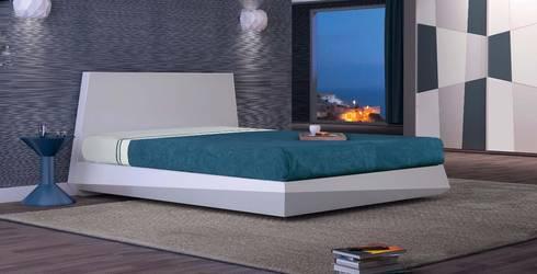 Mobiliário de Quarto Bedroom furniture www.intense-mobiliario.com  TROVÃO: Quarto  por Intense mobiliário e interiores;
