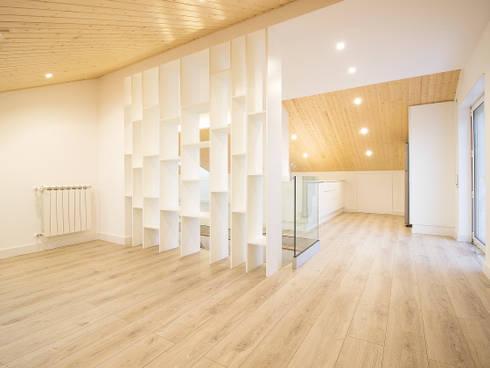 Sótão da Família Maia: Salas de estar escandinavas por Homestories