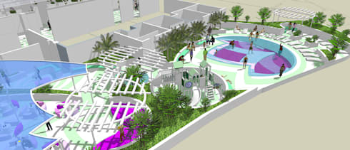 Oceans:   by Uys & White Landscape Architects